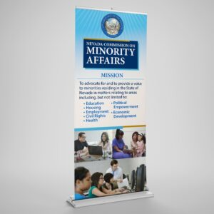 popup banner for Nevada Commission Minority Affairs